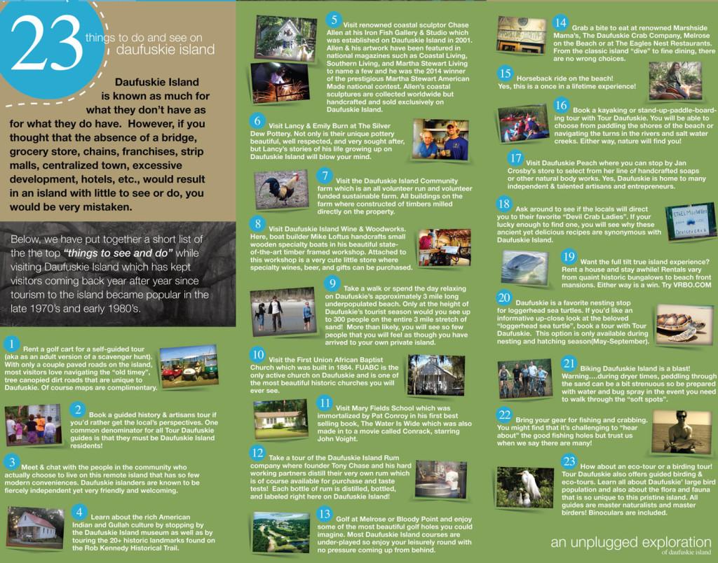 Things To Do On Daufuskie Island