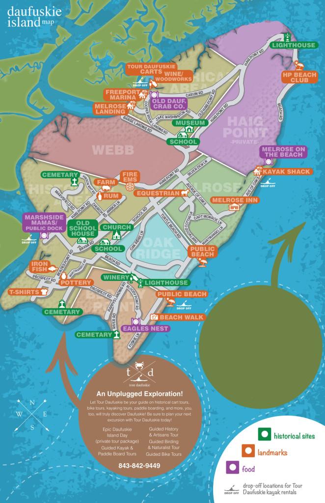 daufuskie island map