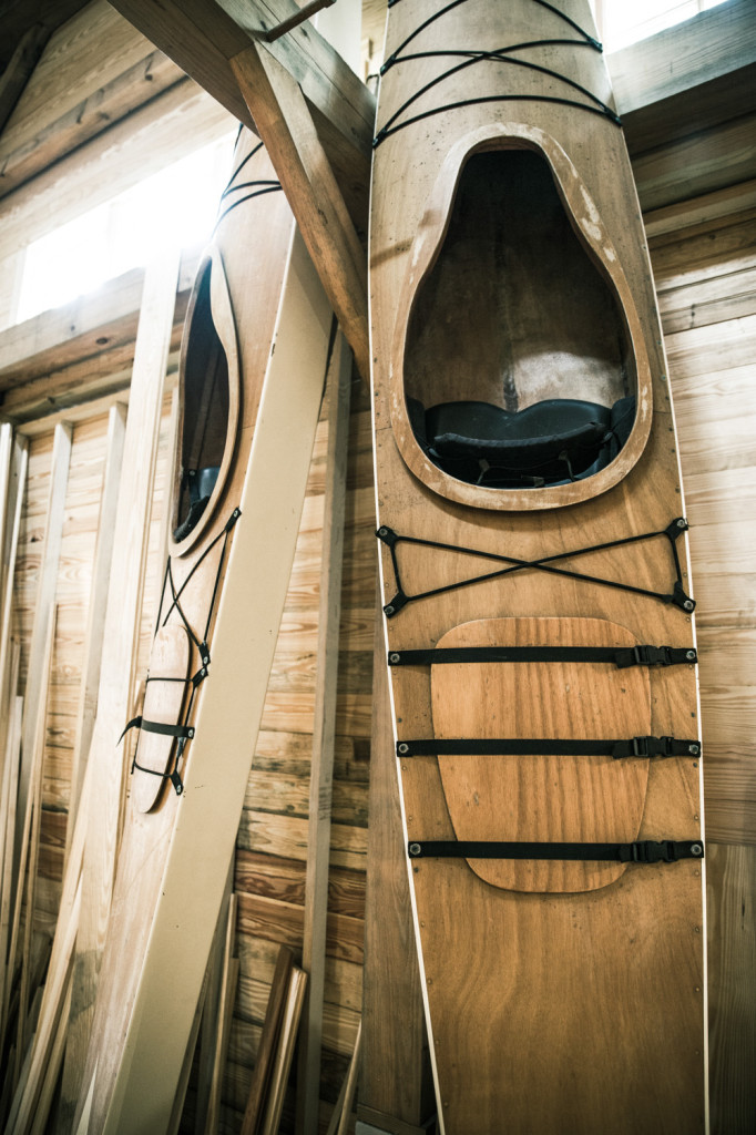 Daufuskie Island Wine and Woodworks Kayaks