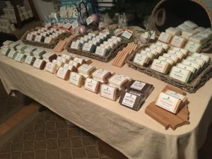 Hand-crafted bath and body products by Daufuskie Peach