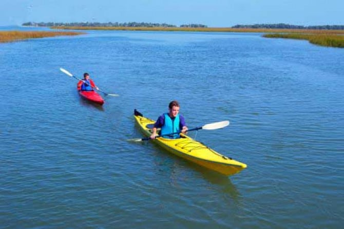 Guided Daufuskie Island Kayak Tours