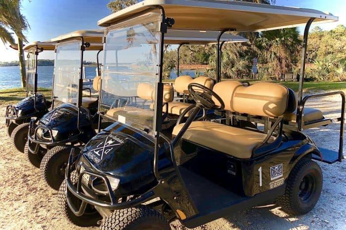 Daufuskie Island Golf cart rentals from Tour Daufuskie